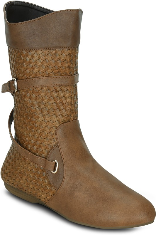 Get Glamr DAWN Boots For Women(Tan)