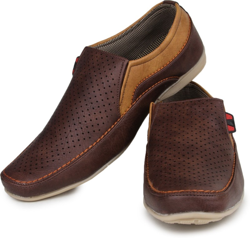 Do Bhai Loafers For Men(Brown)