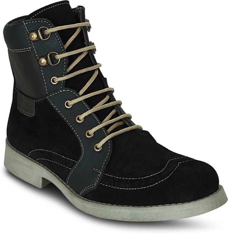 Get Glamr DESIGNER LACE UPS Boots(Black)