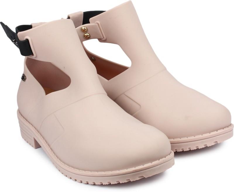 Do Bhai Boots For Women(Beige)