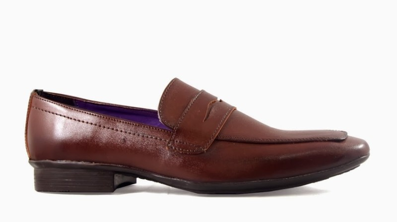 Knotty Derby Loafer Loafer Slip On Shoes(Brown)