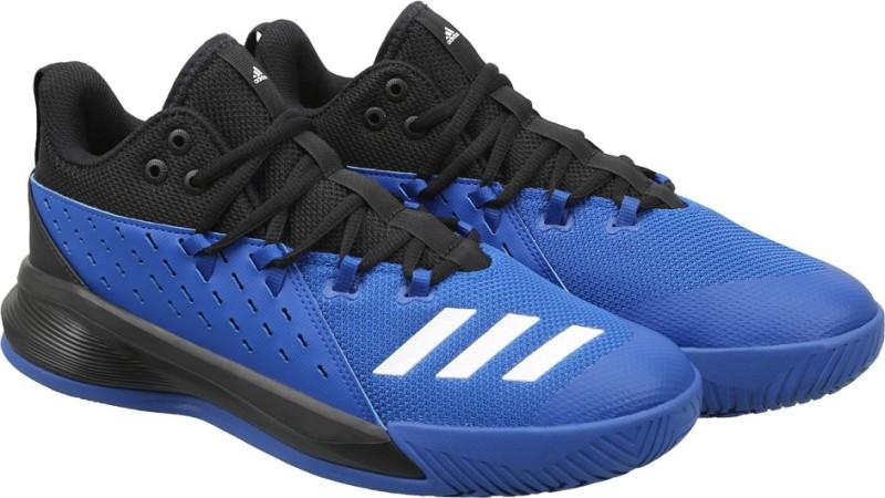 ADIDAS STREET JAM 3 Basketball Shoes For Men(Blue, Black)