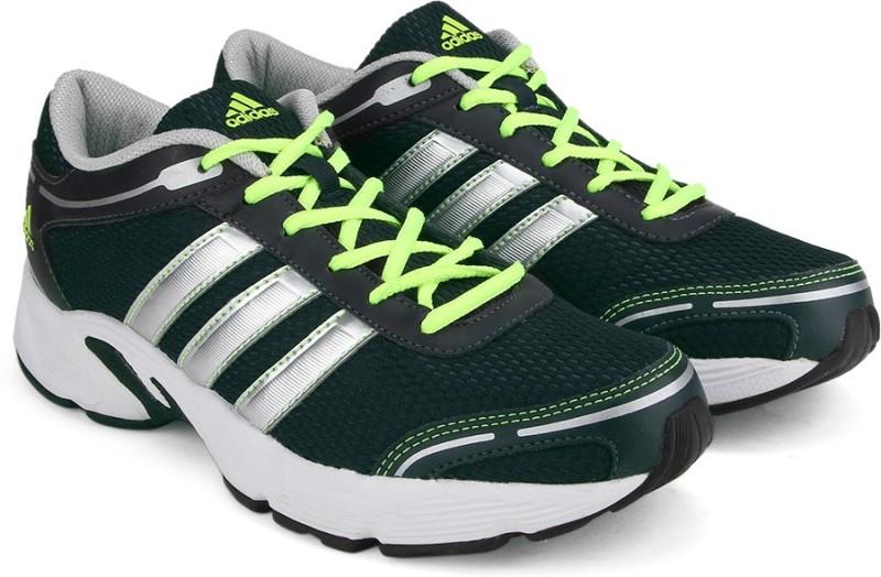 Adidas da eyota m uomini scarpe da Adidas corsa per gli uomini (nero, verde) prezzo minimo 015d38