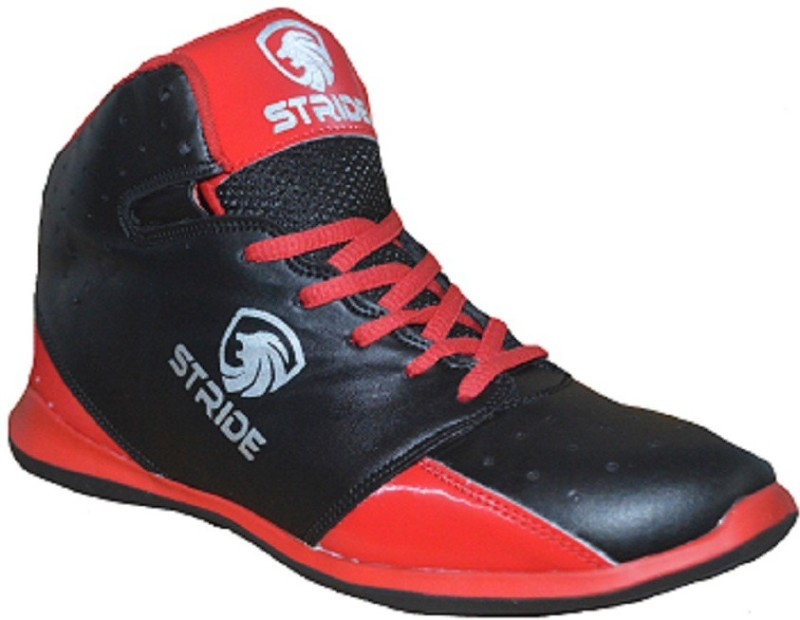 Port Stride-Art 138 Basketball Shoes For Men(Red)