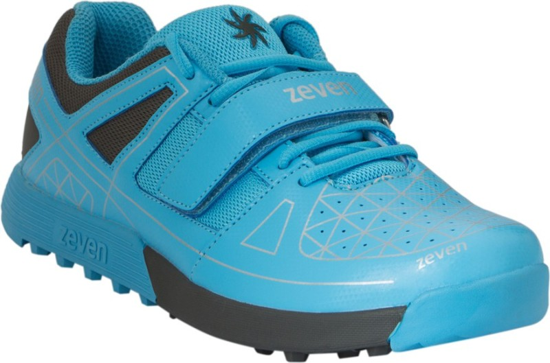 Zeven Crust 1.0 Cricket Shoes For Men(Blue, Black)