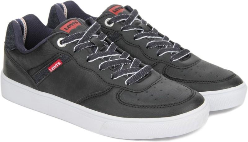 Levi's JEFFREY DENIM Sneakers(Black)