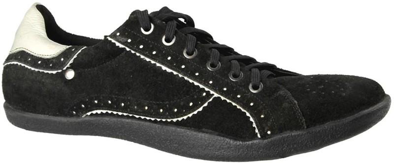 Salt N Pepper XXX Black and White Sneakers For Men(Black)