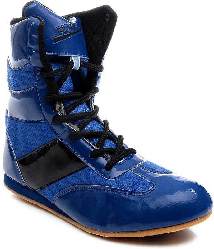 RXN Blue Men's Boxing & Wrestling Shoes For Men(6, Blue, Black) image