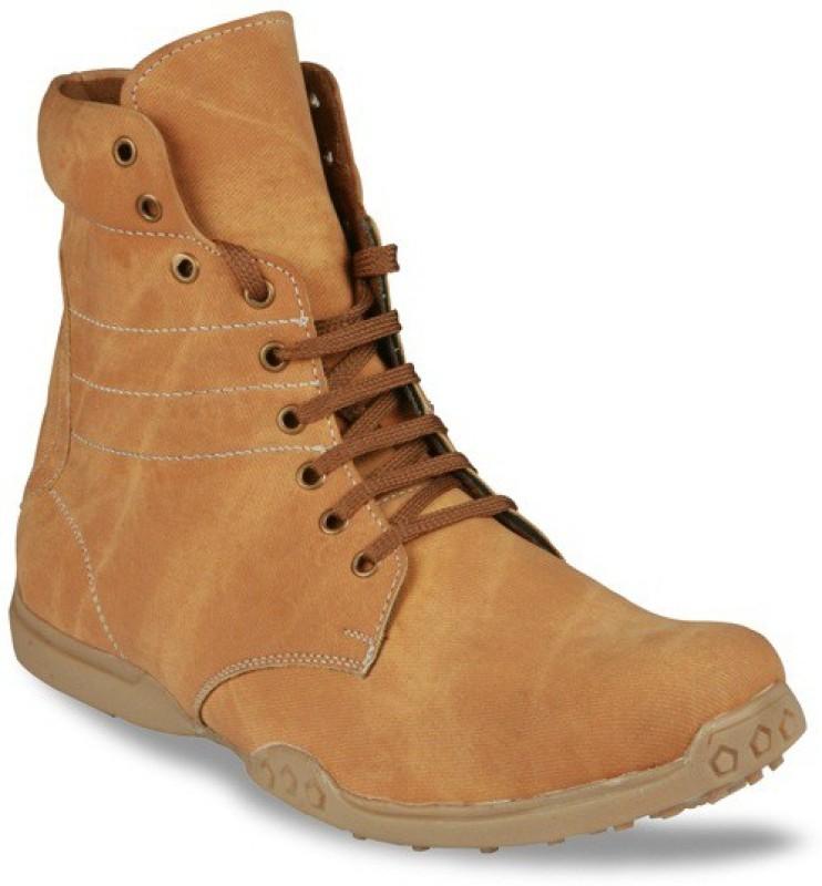 Bacca Bucci Mens tallbiker ankle boots Boots(Tan)