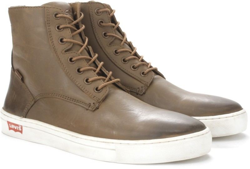 Levis Cathedral Men Boots For Men(Brown)