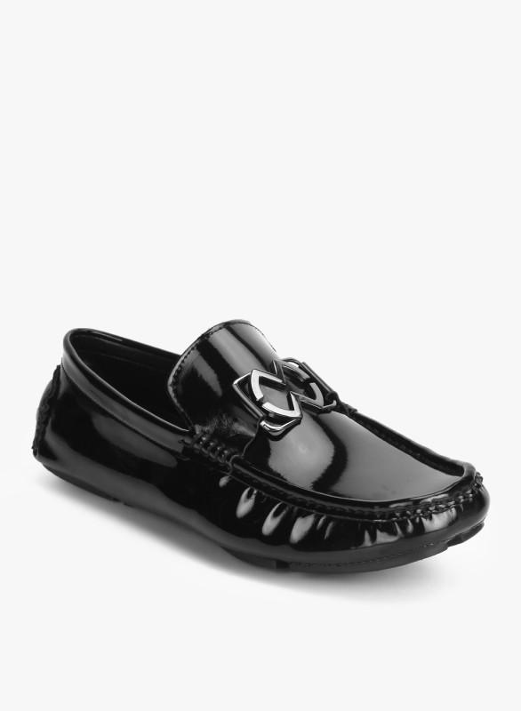 San Frissco EC 264 Loafers For Men(Black)
