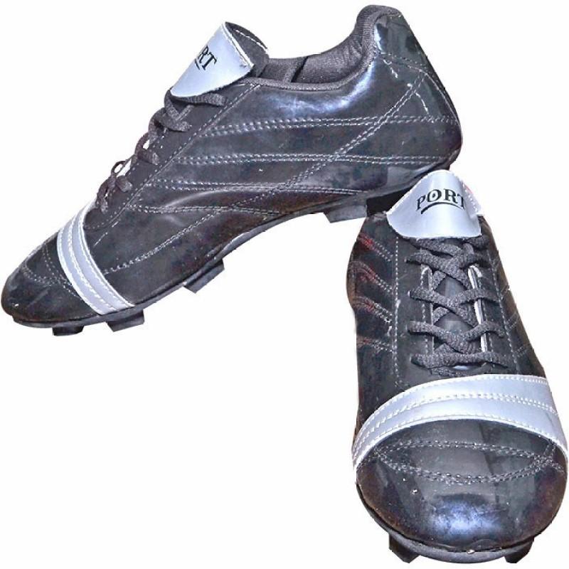 Port Football Shoes For Men(Black)