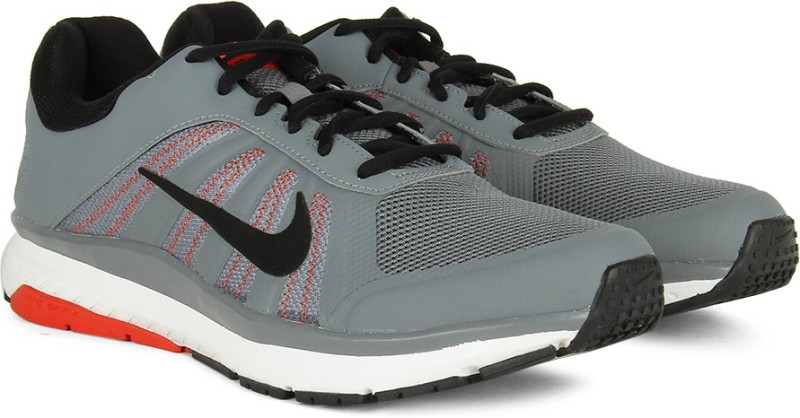 Nike DART 12 MSL Running Shoes For Men(Black, Grey)