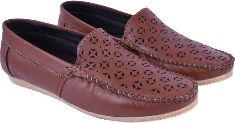 Andrew Scott Mens Loafers For Men(Tan)