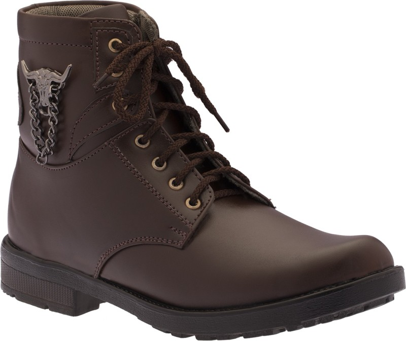 Footista Rodeo Boots(Brown)