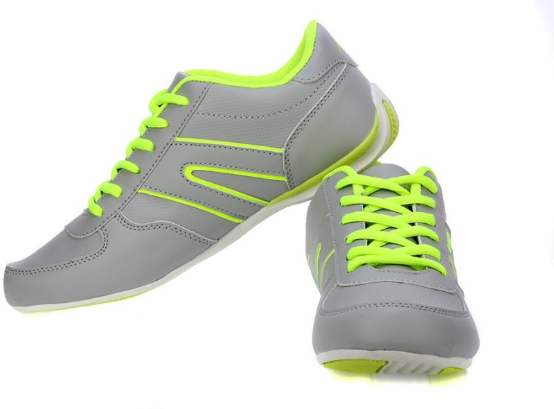 Sparx Trendy Grey Running ShoesGrey Green