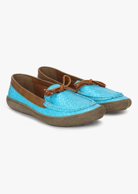Knotty Derby Katie Casuals, Corporate Casuals, Loafers, Sneakers(Blue, Tan)