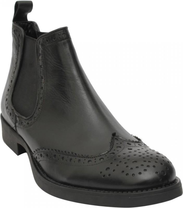 Salt N Pepper Boots For Men(Black)