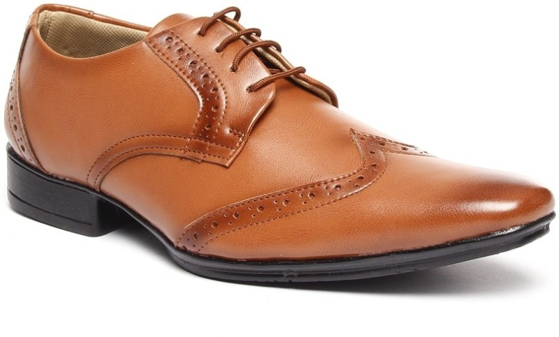 Bacca Bucci Tan Lace Up For Men(Copper)