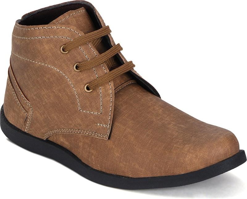 Kielz Boots For Men(Tan)