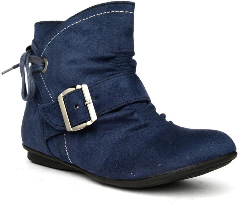 Bruno Manetti Zarah Women's Boots For Women(36, Navy) image