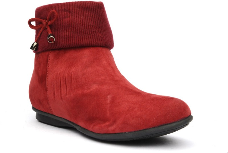 Bruno Manetti Calynda Women's Boots For Women(39, Red) image