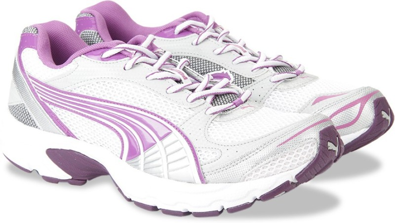 Puma Exsis II Wns IDP Running ShoesWhite Purple