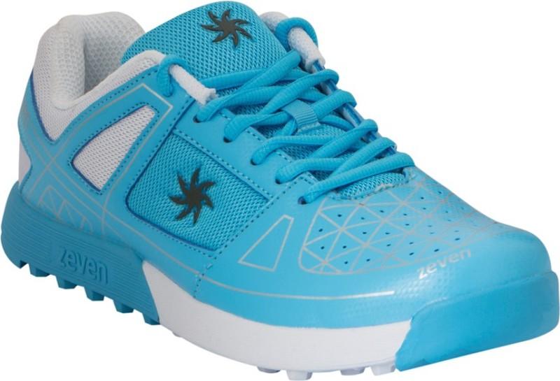 Zeven Crust Cricket Shoes For Men(Blue, White)