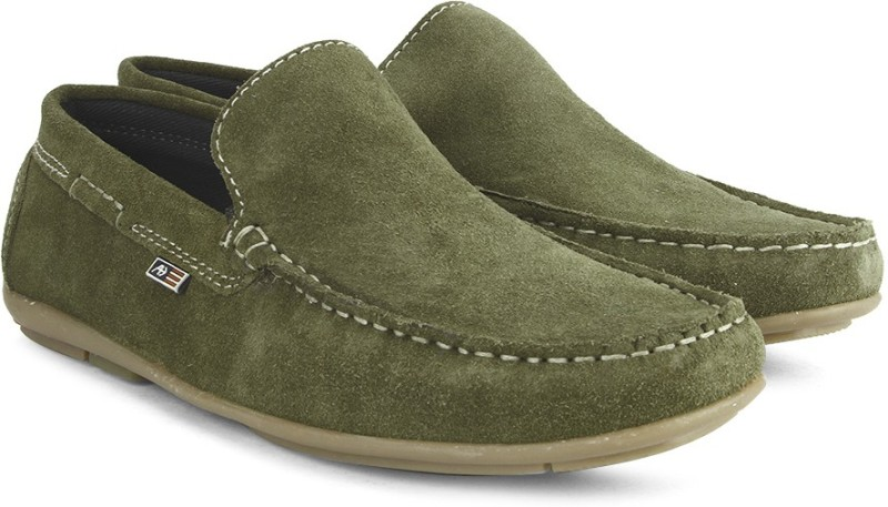 Arrow Loafers For Men(Olive)