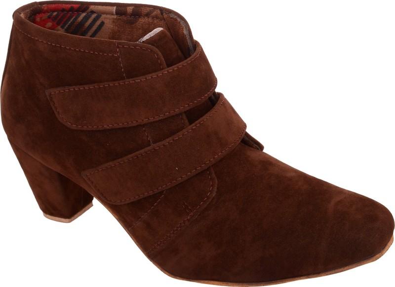 Exotique Heel Boots(Brown)