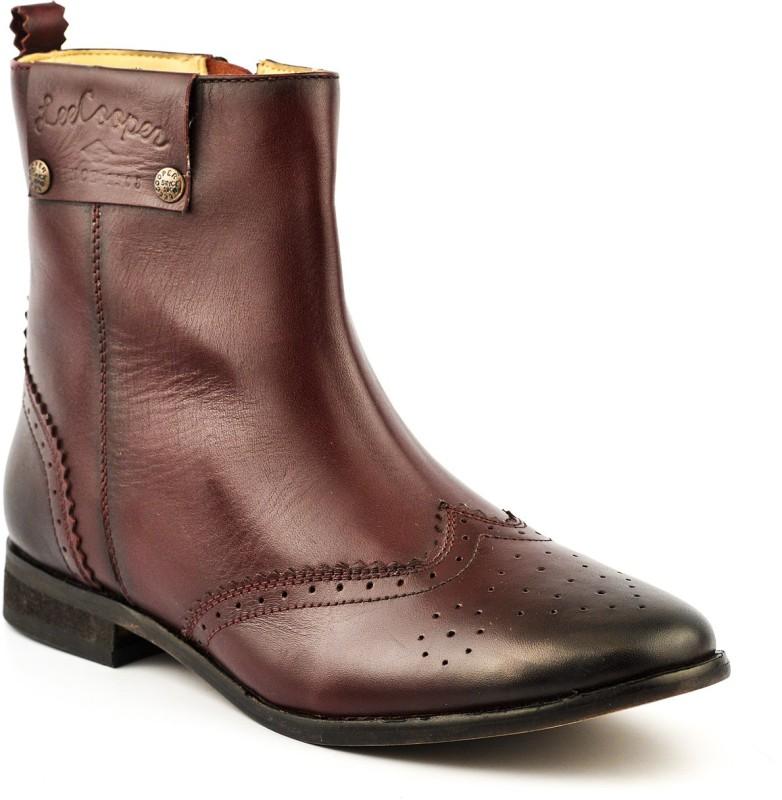 Lee Cooper Women Boots For Women(Maroon)
