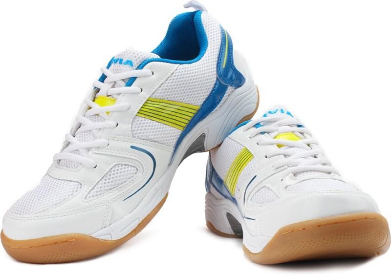 Nivia Smash Badminton Shoes(White)