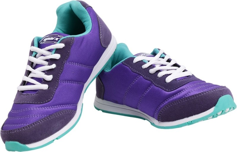 Sparx Stylish Purple  Green Running ShoesPurple Green