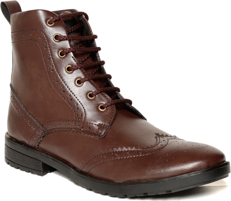 TEN Boots Boots For Men(Brown)