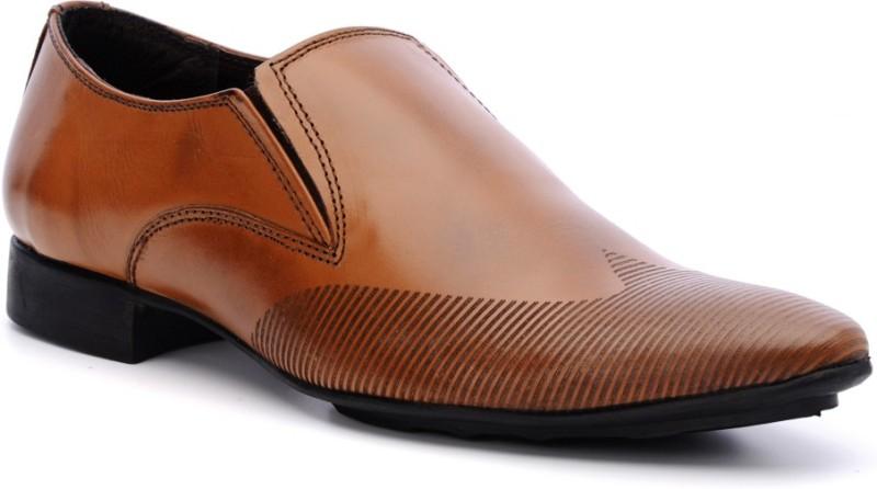 Bruno Manetti LP-7581 Slip On Shoes For Men(Tan)