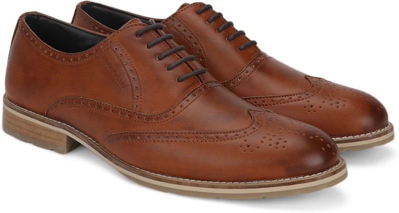 Provogue Corporate Casuals For Men(Brown)