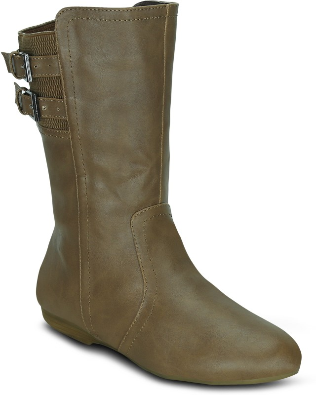 Get Glamr JENNY Boots For Women(Tan)