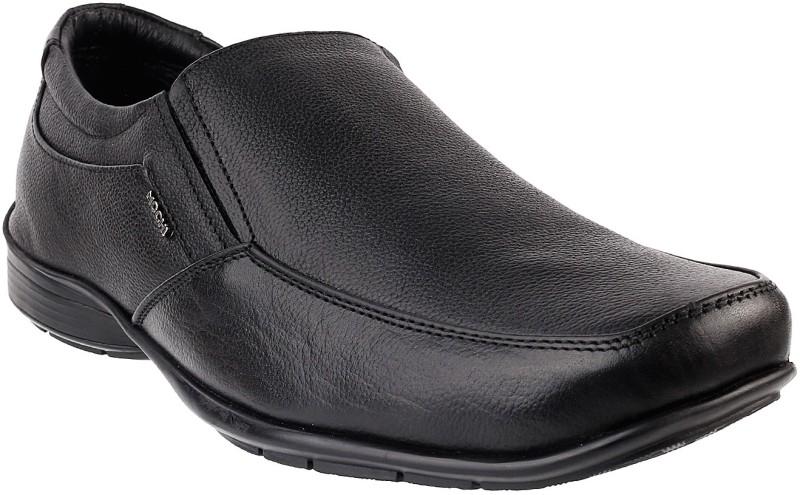 Mochi AWESOME Slip On Shoes(Black)