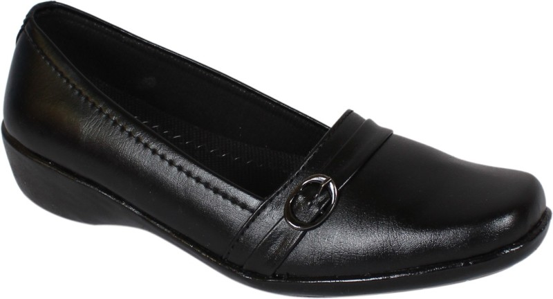 Footshez Women's Bellies shoe For Women(37, Black) image