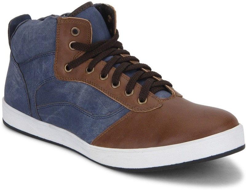 Knotty Derby Carrow Sneak Sneakers For Men(Tan, Blue)