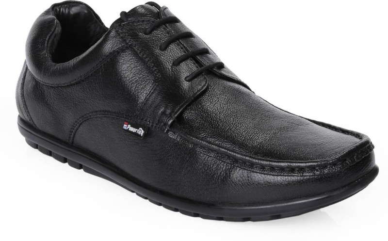 Red Chief RC10019 Lace Up For Men(Black)