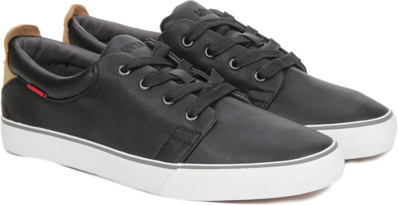 Levis Justin Laced Sneakers(Black)