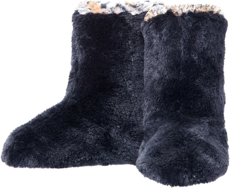 Dearfoams Women's Boots For Women(9, Black) image