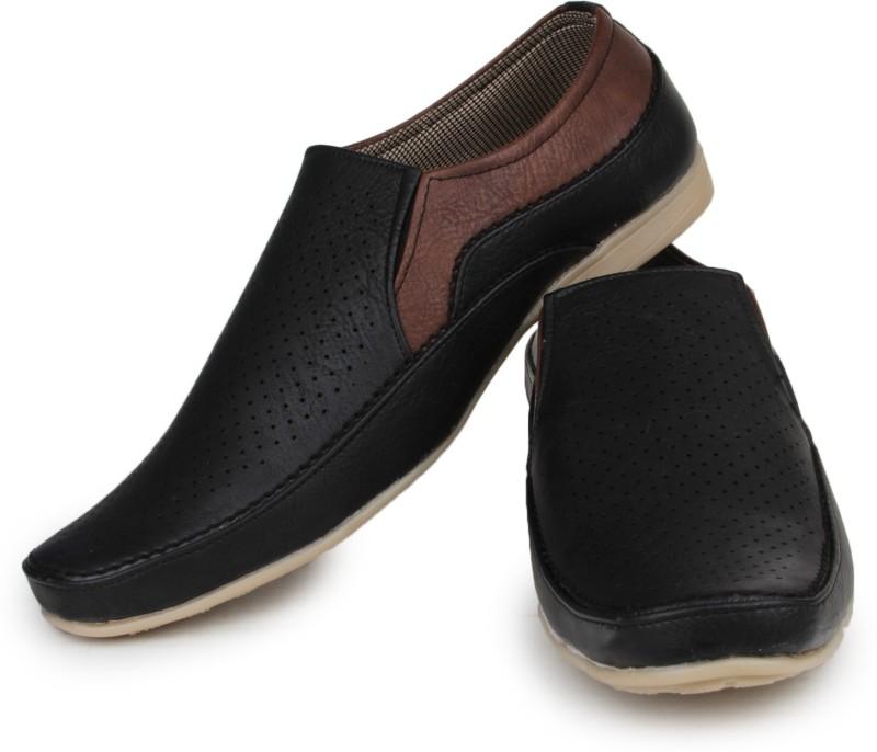 Do Bhai Loafers For Men(Black)