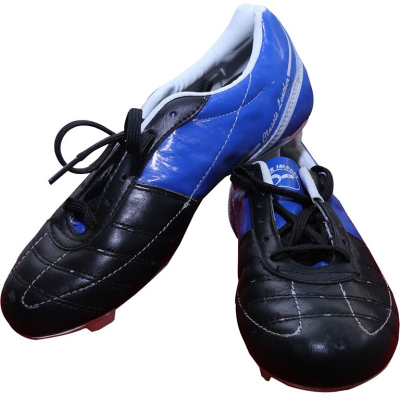 SEGA Classic-0a Football Shoes For Men(Black)