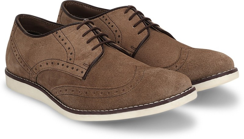 Provogue Corporate Casuals For Men(Beige)