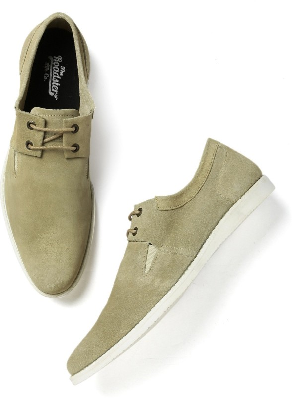 Roadster Casuals For Men(Beige)