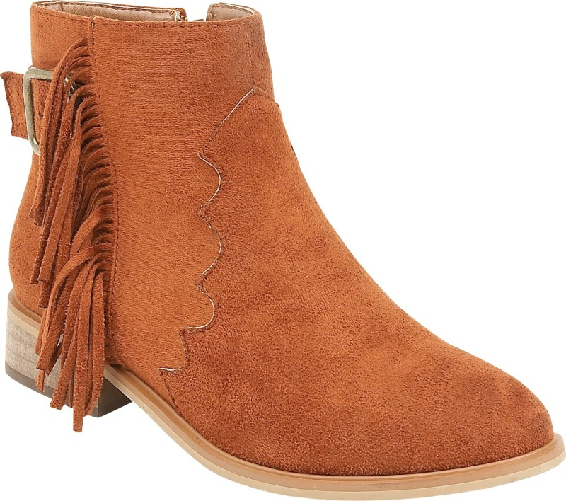 Truffle Collection Boots For Women(Brown)