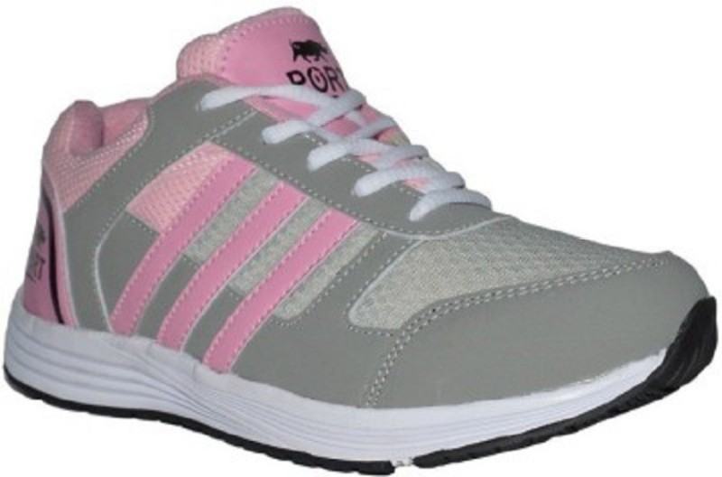 Port Pink Women Victory Running Shoes For Men(Pink)