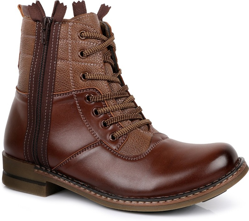 Escaro Boots For Men(Tan)
